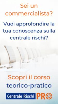 Banner corso centrale rischi per commercialisti - CentraleRischiPRO